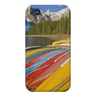カナダ、アルバータ、バンフ国立公園、氷堆石 iPhone 4/4Sケース