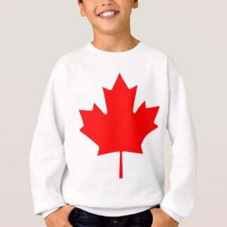 カナダ-カエデの葉 スウェットシャツ