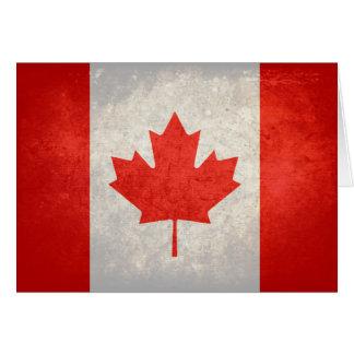 カナダ; カナダの旗 カード