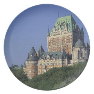 カナダ、ケベック。  館Frontenac. ディナープレート