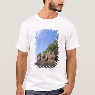 カナダ、ニューブランズウィックのHopewell岬、湾の Tシャツ