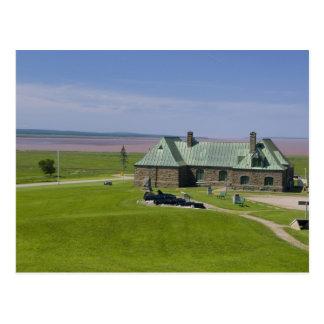 カナダ、ニューブランズウィック、Aulac。 城砦カンバーランド ポストカード