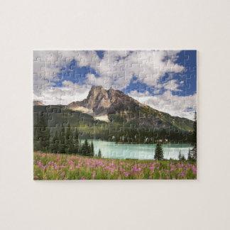 カナダ、ブリティッシュ・コロンビアのYohoの国立公園。 3 ジグソーパズル