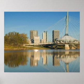 カナダ、マニトバ、ウィニペグ: 遊歩道のリエル2 ポスター
