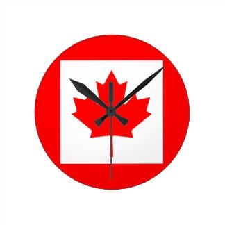 カナダ ラウンド壁時計