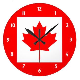 カナダ ラージ壁時計