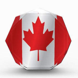 カナダ 表彰盾