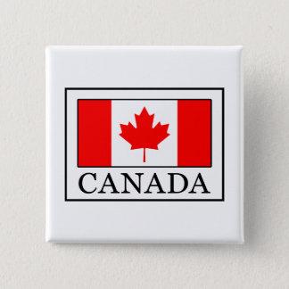 カナダ 5.1CM 正方形バッジ