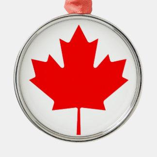 カナダ- Drapeau DUカナダの国旗 メタルオーナメント