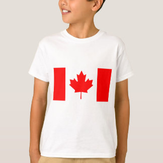 カナダ- Drapeau DUカナダの国旗 Tシャツ