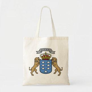 カナリア諸島の公式の記号スペイン紋章付き外衣 トートバッグ