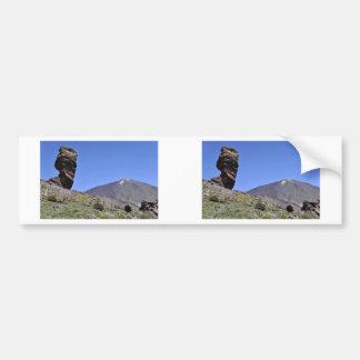 カナリア諸島の山Teide バンパーステッカー
