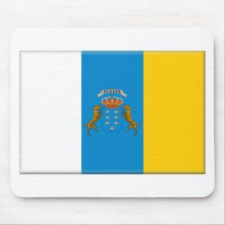 カナリア諸島(スペイン)の旗 マウスパッド