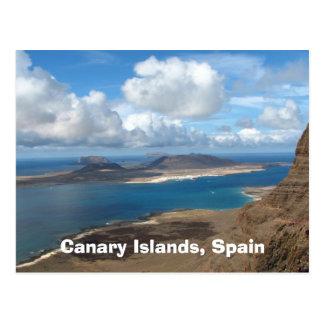 カナリア諸島、スペイン ポストカード