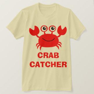 カニのキャッチャーも Tシャツ