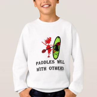 カヌーのスラローム-よのかい他と スウェットシャツ