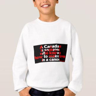 カヌーの愛の作成 スウェットシャツ