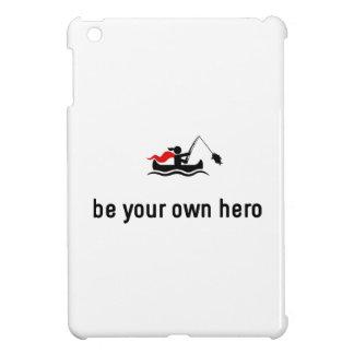 カヌーの魚釣りの英雄 iPad MINI カバー