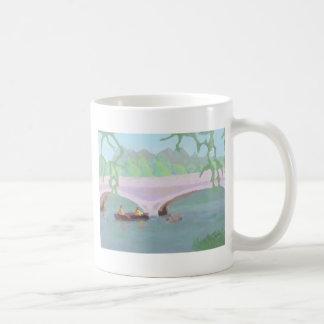 カヌーをこぐ平和な孤独、マグ コーヒーマグカップ