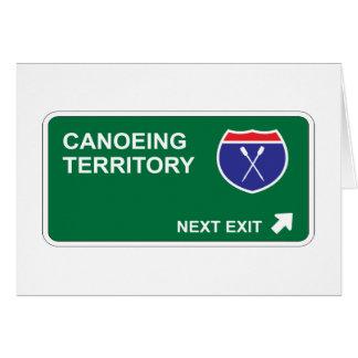 カヌーをこぐ次の出口 カード