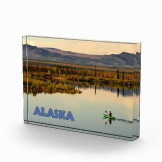 カヌーアラスカ 表彰盾