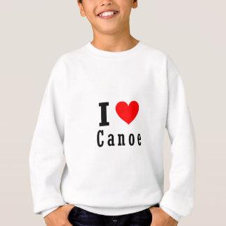 カヌー、アラバマ都市デザイン スウェットシャツ