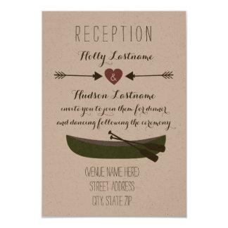カヌー + 矢の素朴な結婚披露宴 カード