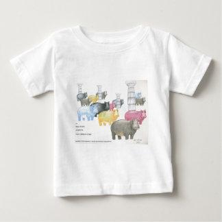 カバのような何もありません ベビーTシャツ
