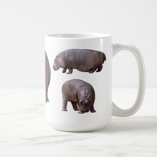 カバのマグカップ コーヒーマグカップ
