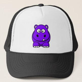 カバの紫色 キャップ