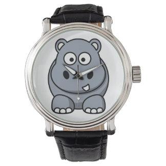 カバの腕時計 腕時計