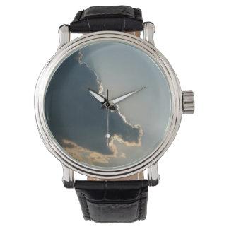 カバの雲の腕時計 腕時計