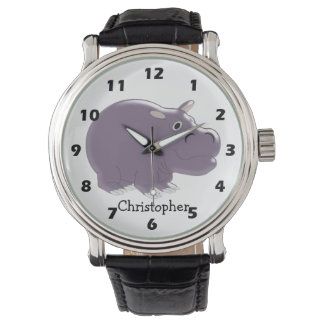 カバはちょうど名前を加えます 腕時計