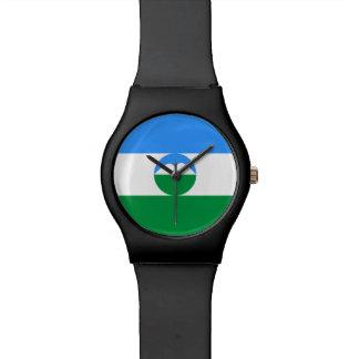 カバルダバルカルの旗 腕時計