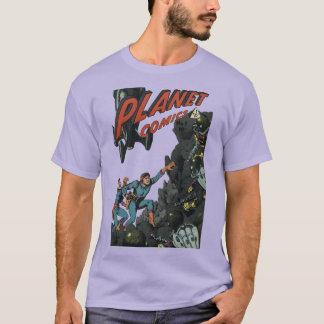 カバー芸術: 惑星の漫画#1 Tシャツ
