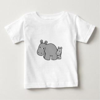 カバ ベビーTシャツ