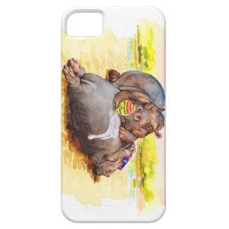 カバ 太陽 iPhone 5 CASE
