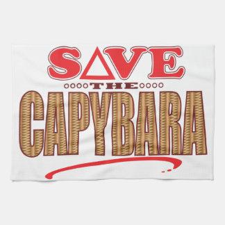 カピバラの保存 キッチンタオル