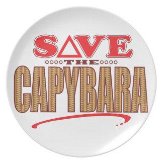 カピバラの保存 プレート