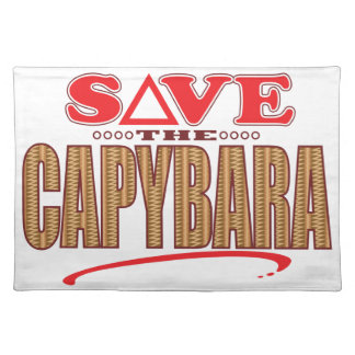 カピバラの保存 ランチョンマット