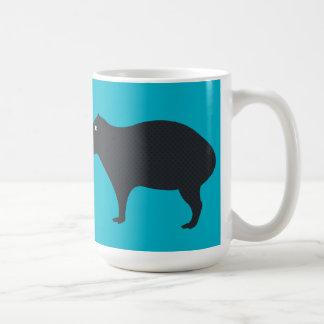 カピバラはマグを見ています コーヒーマグカップ