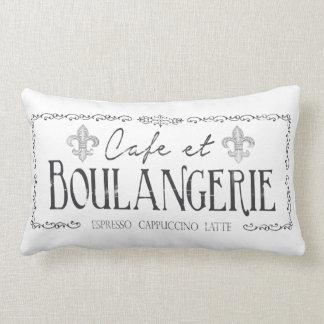 カフェとBoulangerieのフランスのな枕装飾 ランバークッション