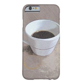 カフェのコップの芸術の場合 BARELY THERE iPhone 6 ケース