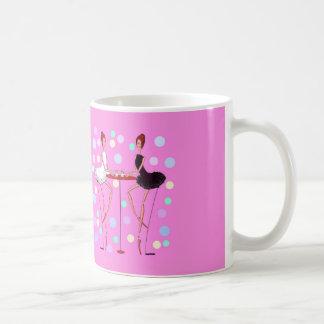 カフェのバレエの白鳥湖ODETTE ODILEの友人 コーヒーマグカップ