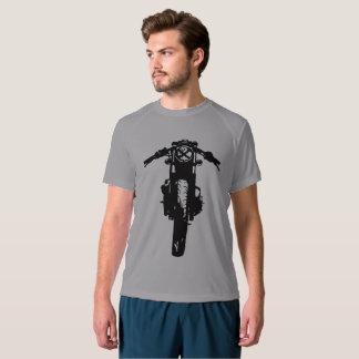 カフェのレーサーのTシャツ、ヴィンテージのオートバイの人のワイシャツ Tシャツ