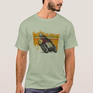 カフェのレーサー- mvのagusta tシャツ
