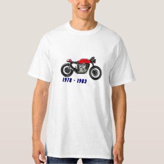 カフェのレーサー Tシャツ