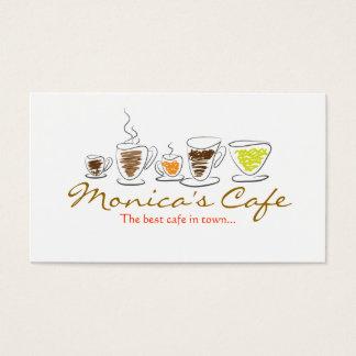 カフェの名刺 名刺