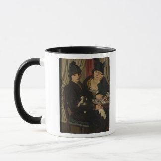 カフェの女性、c.1924 マグカップ