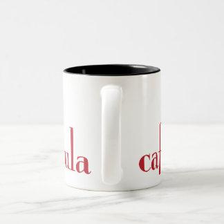 カフェのfarandulaのコーヒー・マグ ツートーンマグカップ